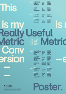 Print-Process / Product / Metric Conversion
