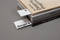 B&F Studio Collateral — Berger & Föhr — Graphic Design & Art Direction