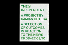 The Independent, Damián Ortega - OK-RM