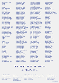 Best British Books - OK-RM