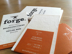 Forge Business Card - FPO: For Print Only