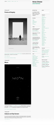 Swiss Cheese and Bullets site | Gridness