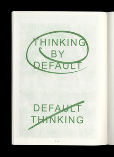 THINKING & DOING - Kasper Pyndt