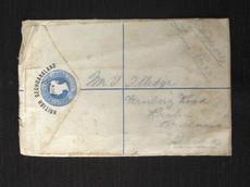Rare Registration Envelope, British Bechuanaland, 1886 (eBay item 300528055546 end time 01-Mar-11 19:59:34 AEDST) : Stamps