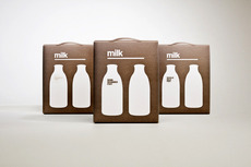 Designer Milk Packaging - Package Design Blog - TheDieline.com