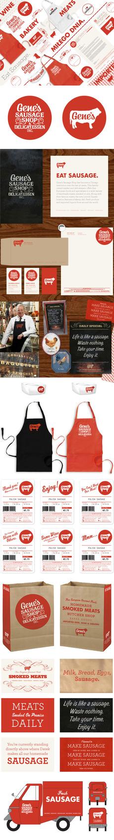 Gene's Sausage Shop - Knoed Creative