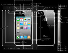 Cool! Actual iPhone 4 CAD drawings - Core77