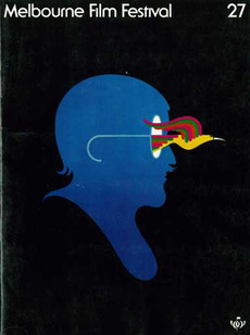Item 147: Melbourne Film Festival Poster / unknown designer / 1978 « Recollection