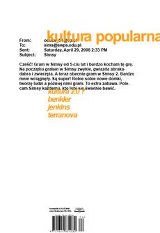 kultura popularna : portfolio