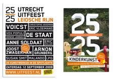 Utrecht Uitfeest Leidsche Rijn | AUTOBAHN grafisch ontwerp | Utrecht