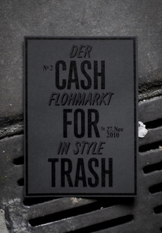 Cash for Trash Nr.2 : dominic rechsteiner
