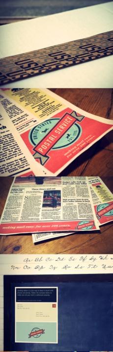 Postal Service Redesign: Graphic and Packaging Design | Design Blog | Design.org