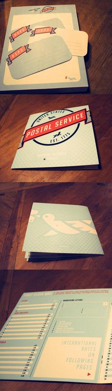Postal Service Redesign: Graphic and Packaging Design   Design Blog   Design.org