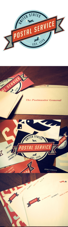 Postal Service Redesign: Graphic and Packaging Design | Design Blog | Design.org