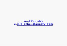 Family +44 7595 746 785 | a—d Foundry (Identity)