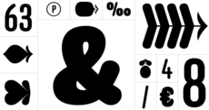 Anchor Font Family | Process Type Foundry