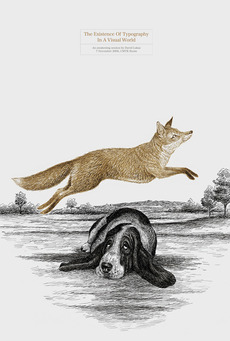 The quick brown fox jumps over the lazy dog… | typetoken®