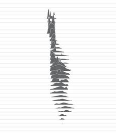 feltron — Manhattan Topography. Made with Geocontext
