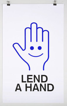 The MVA Exchange - Motivations: Lend A Hand print