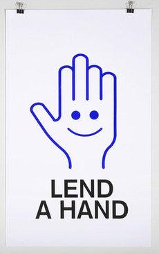 The MVA Exchange - Motivations: Lend A Hand print