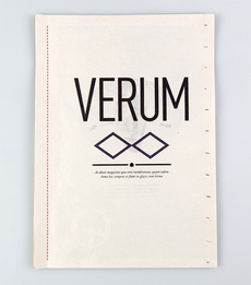 Verum on the Behance Network