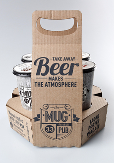 MUG pub on the Behance Network
