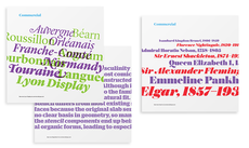 Commercial Type Ads - Working Format