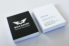Rocanini Coffee Roasters on the Behance Network