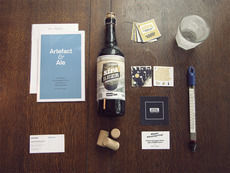 Sïppa Beer Label, Hang Tag, and Brochure - FPO: For Print Only