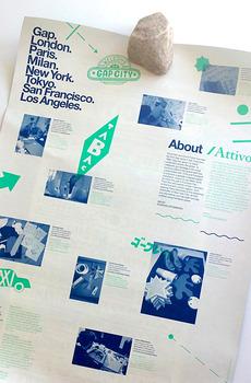 Gap Poster / Lummiwall | iamhuntingdesign.com