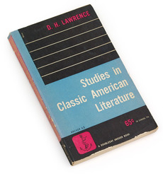 Studies in Classic American Literature, 1953 : Book Worship