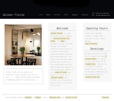 Golden Fields | Racket – Web Design, Print Design, Art & Photography