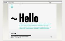Righttype | eyegix™ | portfolio von freelance art director daniel bretzmann