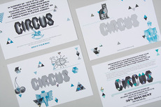 ANDY LANG / graphic design / circus