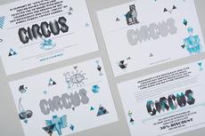ANDY LANG / graphic design / circus