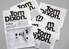 ANDY LANG / graphic design / tom dixon review 2009