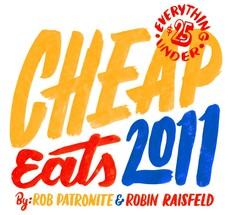New York Magazine, Eat Cheap 2011 — Friends of Type